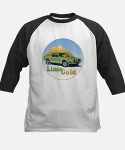 The Lime Gold Kids Baseball Jersey