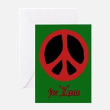 Peace for Xmas Greeting Card