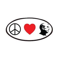 Peace Love Ron Paul Patches