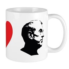 Peace Love Ron Paul Small Mug