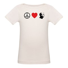Peace Love Ron Paul Tee