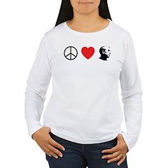 Peace Love Ron Paul T-Shirt