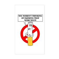 Don't smoke it Sticker (Rectangular)