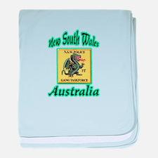 NSW Police Gang Task Force baby blanket