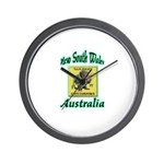 NSW Police Gang Task Force Wall Clock