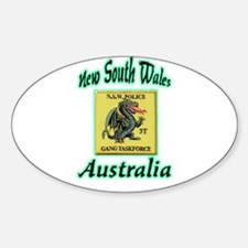 NSW Police Gang Task Force Decal