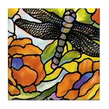 Dragonfly Tile Coaster