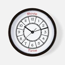 Movie Theme Wall Clock