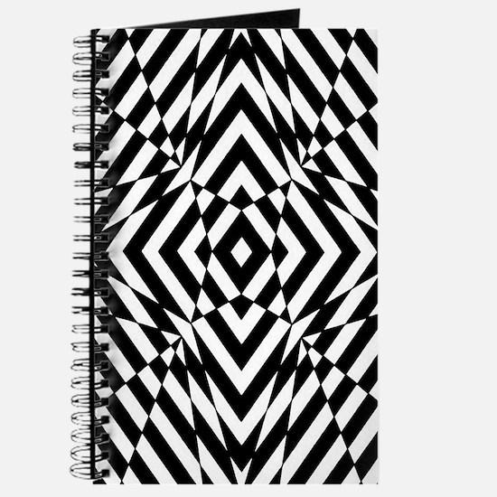 Op Art Diamonds Journal