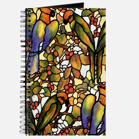 Stained Glass Birds Journal