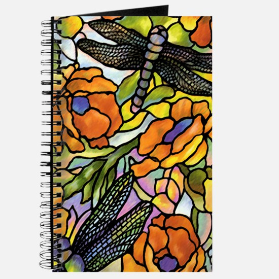 Stained Glass Dragonfly Journal