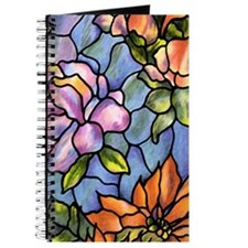 Stained Glass Flowers Journal