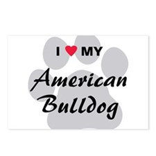 American Bulldog Postcards (Package of 8)