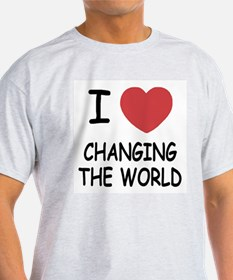 I heart changing the world T-Shirt