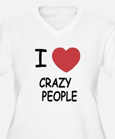 I heart crazy people T-Shirt