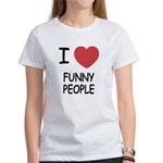 I heart funny people Women's T-Shirt