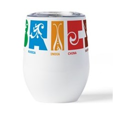 I heart funny people Thermos® Can Cooler