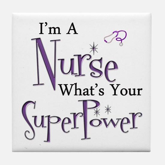 Unique Nurses week Tile Coaster