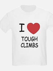 I heart tough climbs T-Shirt