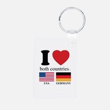 USA-GERMANY Keychains