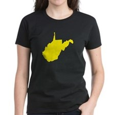 Yellow West Virginia Tee