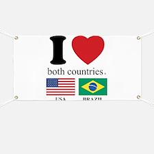 USA-BRAZIL Banner