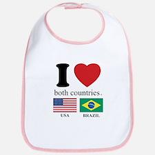 USA-BRAZIL Bib