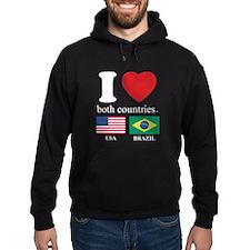 USA-BRAZIL Hoodie
