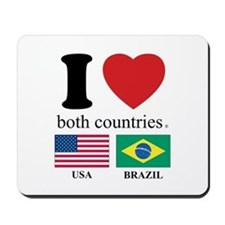 USA-BRAZIL Mousepad