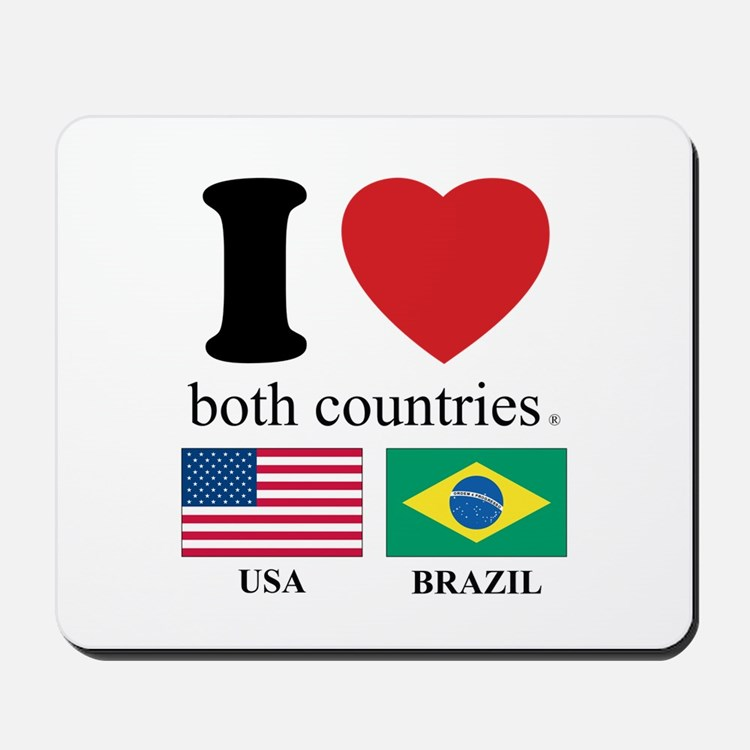 USA-BRAZIL Mousepad