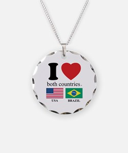 USA-BRAZIL Necklace