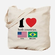 USA-BRAZIL Tote Bag