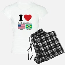 USA-BRAZIL Pajamas