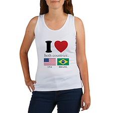 USA-BRAZIL Women's Tank Top