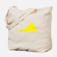 Yellow Virginia Tote Bag