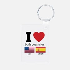 USA-SPAIN Keychains