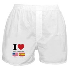 USA-SPAIN Boxer Shorts