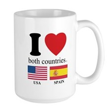 USA-SPAIN Mug
