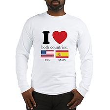 USA-SPAIN Long Sleeve T-Shirt
