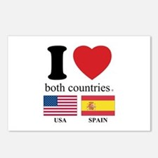 USA-SPAIN Postcards (Package of 8)