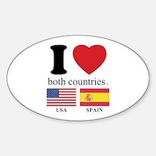 USA-SPAIN Decal