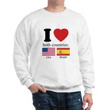 USA-SPAIN Sweatshirt