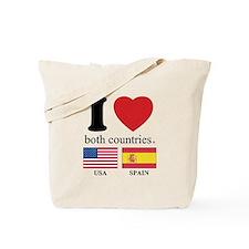USA-SPAIN Tote Bag