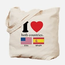 USA-SPAIN Tote Bag