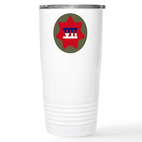 VII Corps Stainless Steel Travel Mug