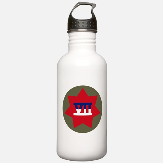 VII Corps Water Bottle