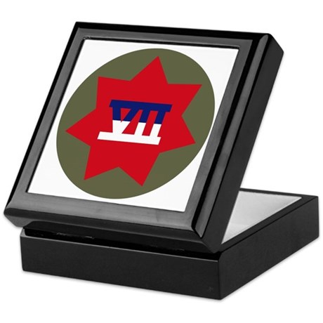 VII Corps Keepsake Box