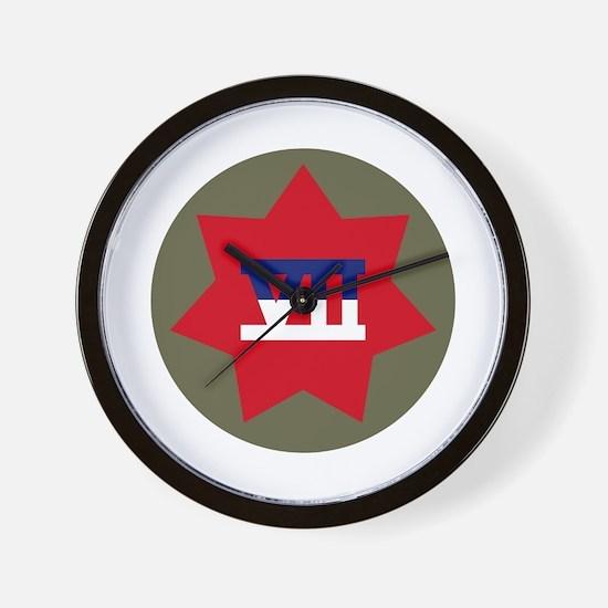 VII Corps Wall Clock