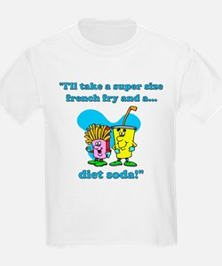 Fries & Diet Soda T-Shirt