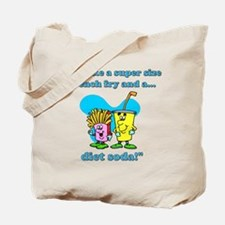 Fries & Diet Soda Tote Bag